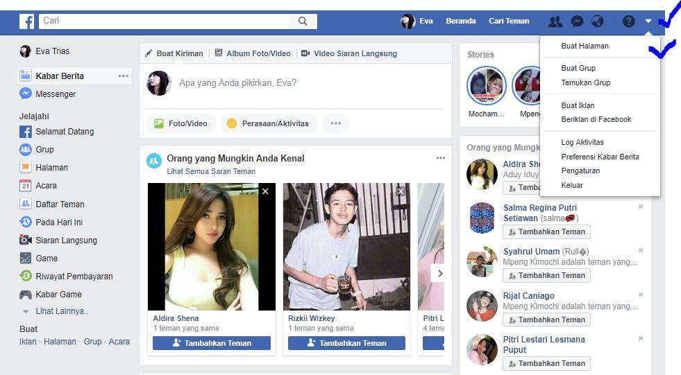 50 Cara Buat Akun Facebook Personal Dan Bisnis Baru