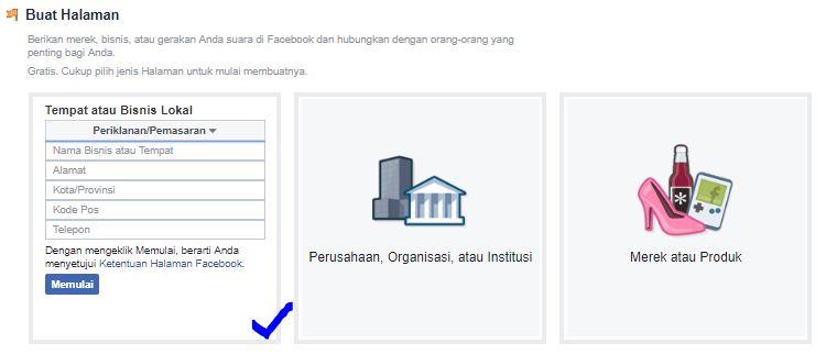 cara buat akun facebook