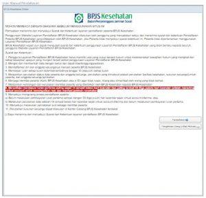 Daftar BPJS kesehatan online