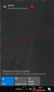 cara menghidupkan wifi di laptop