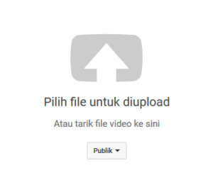 cara upload vidio ke youtube