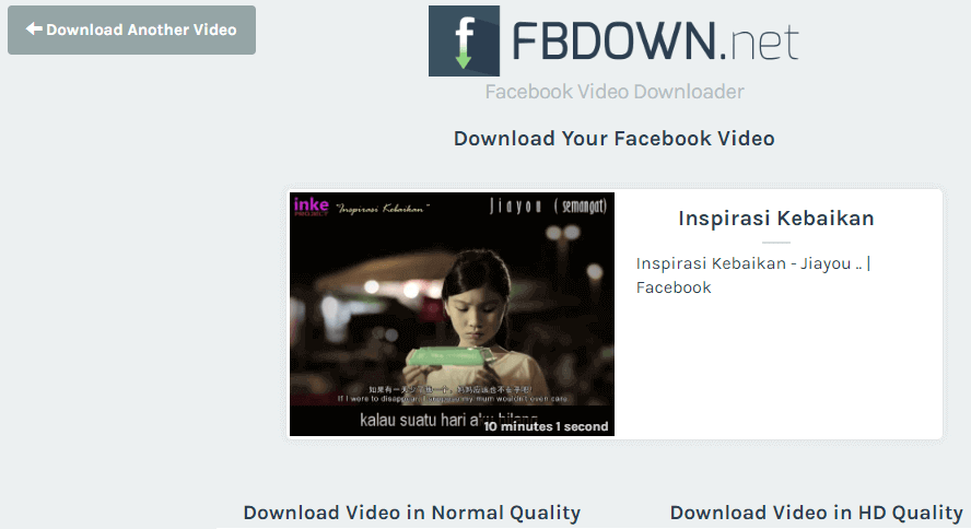 cara download video di fb4