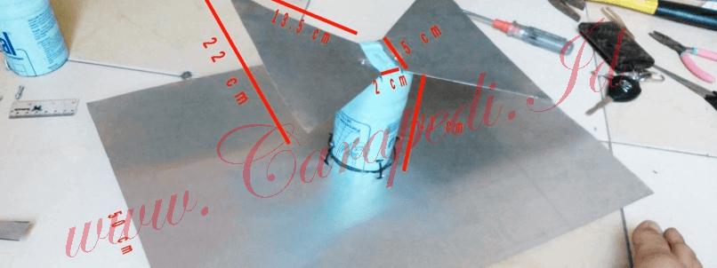 cara membuat antena tv