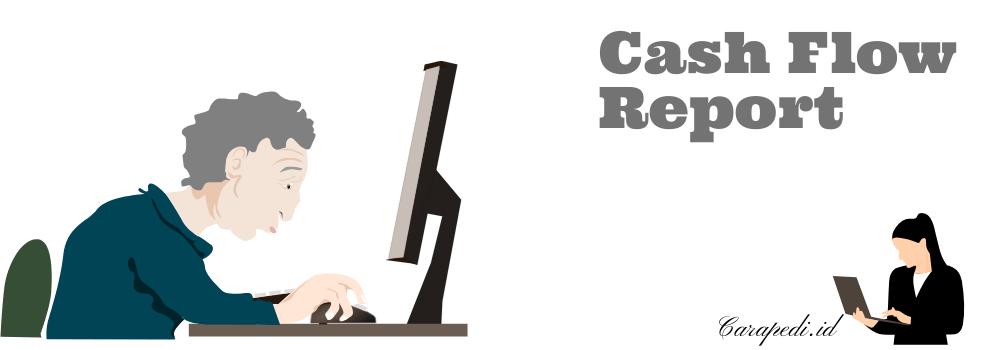 cara membuat laporan arus kas