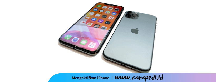 Aktivasi iphone