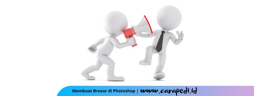 cara membuat brosur dengan photoshop