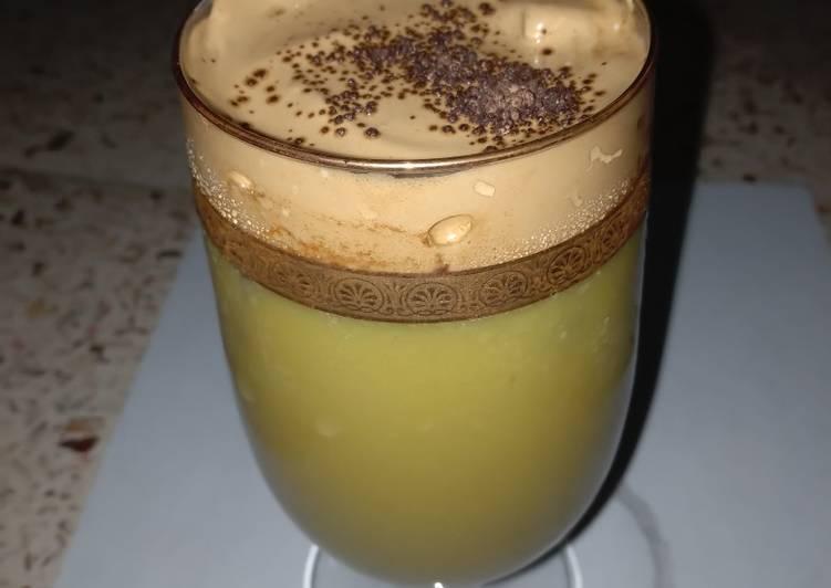 dalgona coffee alpukat