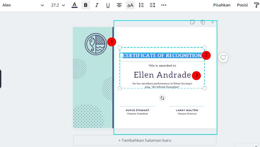 cara bikin sertifikat