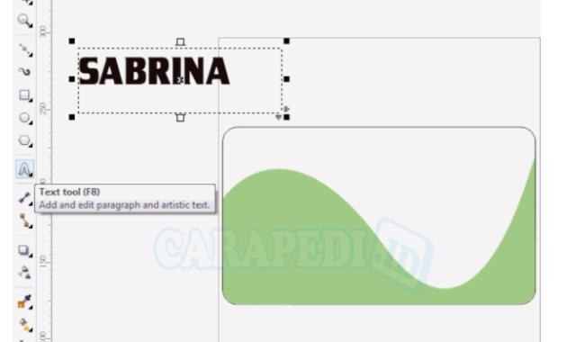 cara membuat kartu nama dengan coreldraw