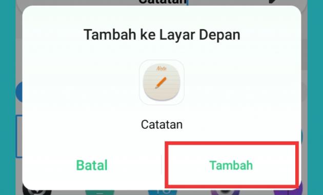 cara mengubah ikon aplikasi di android