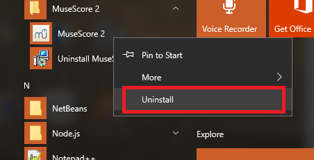cara uninstall aplikasi di windows 10