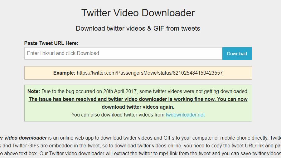 3 Cara Download Video Twitter Di PC Dan Android