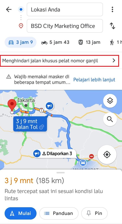 cara-atur-pelat-nomor-ganjil-genap-di-google-maps