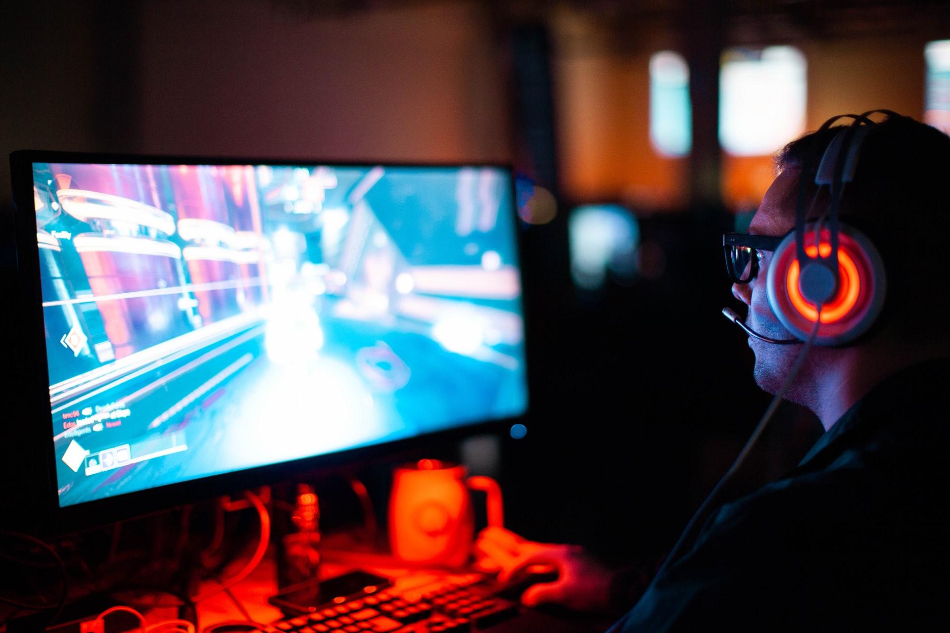game gaming komputer pc